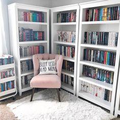 Home library furniture bookshelf ideas ideas Home Library Rooms, Home Library Design, Home Libraries, House Design, Library Furniture, Bedroom Furniture, Library Bedroom, Library Ideas, Furniture Layout