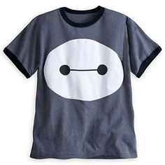 Baymax Ringer Tee for Boys - Big Hero 6<<--I would still wear this. I'm a girl. WOMAN UP