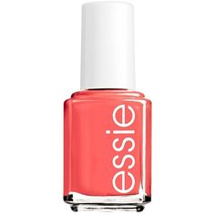 essie Summer Trend Nail Polish ($8.50) ❤ liked on Polyvore featuring beauty products, nail care, nail polish, makeup, nails, beauty, essie, red, red nail polish and nail color
