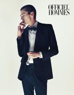 Cole Mohr by Kim Hyungsik for L'Officiel Hommes Korea