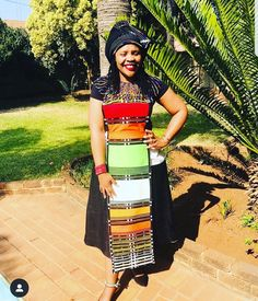 African Dresses For Women, African Wear, African Attire, African Fashion Dresses, African Wedding Attire, African Weddings, African Fashion Traditional, Traditional Clothes, Xhosa Attire