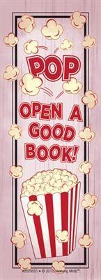 Pop Open A Good Book! Bookmarks
