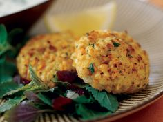 Cumin-Spiced Red Lentil Burgers | The Good News The red lentils in these spicy, Indian-inspired vegetarian burgers don't need to be soaked and cook super-quickly. What's more, they are...