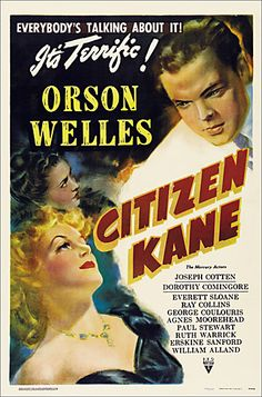 Citizen Kane (1941) starring and directed by Orson Welles. http://www.morbidmonster.com