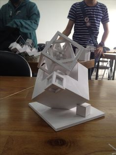 Espacio y Volumen Paper Architecture, Architecture Student, Architecture Design, Structural Model, Architecture Concept Diagram, Architecture Foundation, Cube Design, Butterfly Wall Art, Arch Model