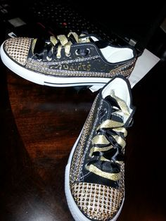 NFL BLINGED SNEAKERS!!!