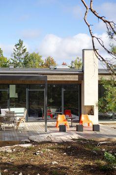Une maison d'architecte au milieu des rochers - PLANETE DECO a homes world