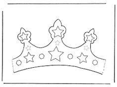 Resultado de imagen para moldes de coronas de princesas