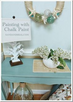 Painting with Chalk Paint - a great beginner's guide