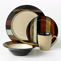 SONOMA life + style Pomona 16-pc. Dinnerware Set