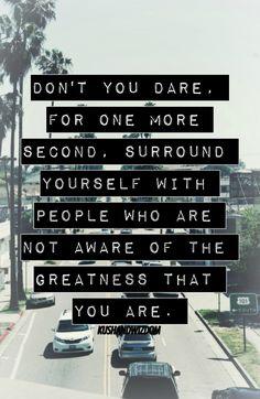 Don't you dare.