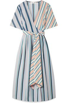DVF Gap Kids White Eyelet Wrap Dress Size 8 Medium NWT