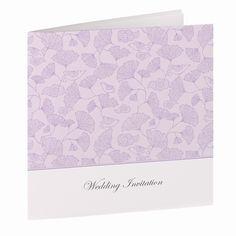 Lilac Laticia Wedding Invitations