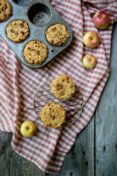Apple Cranberry Muffins with protein granola for an extra boost | Cascadian Farm