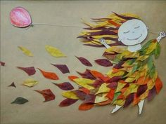 Новости - Fall Crafts For Toddlers Fall Arts And Crafts, Autumn Crafts, Autumn Art, Nature Crafts, Diy And Crafts, Paper Crafts, September Art, Fall Art Projects, Leaf Crafts