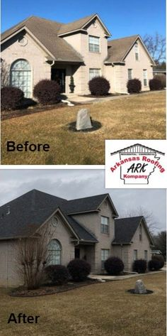 20 Before And After Collages Ideas In 2020 Residential Roofing Commercial Roofing Roofing