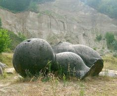 Strange Hoodoos - Growing Stones - An Incredible Geological Phenomenon - Valcea County, Romania