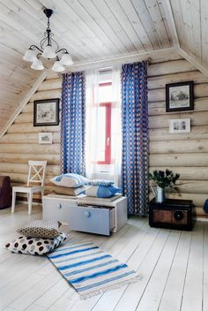 22 Wooden House Interior will Make Your Home Look Natural and Environmentally Friendly Rental Decorating, Home, House Rooms, Log Cabin Decor, Log Cabin Living, Interior, House, House Interior, Cabin Interiors