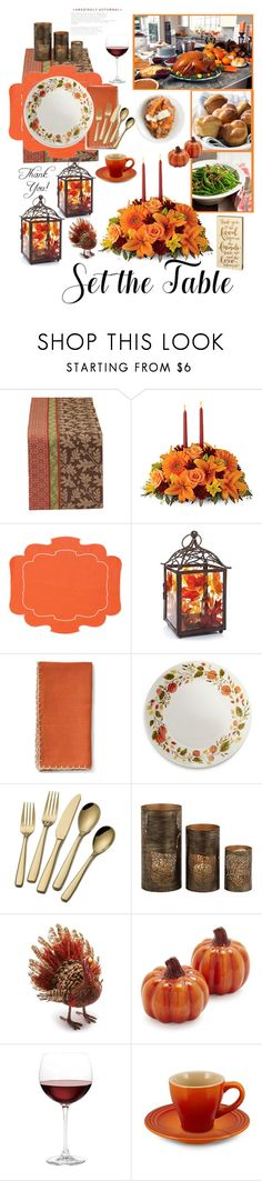 """Friends and Family"" by sweetdee55 ❤ liked on Polyvore featuring interior, interiors, interior design, home, home decor, interior decorating, Design Imports, La Gallina Matta, Yankee Candle and Sur La Table"
