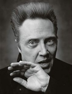 Christopher Walken by Mark Seliger