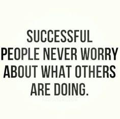 Successful ppl...