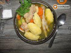 Becsinált leves grízgaluskával Meat, Kitchen, Petra, Soups, Food, Cooking, Kitchens, Essen, Soup
