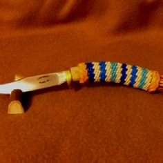 Hand Made Knife & Beading by Tommy Mercer.