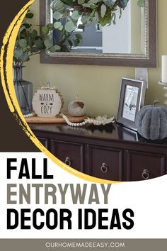 Try something new this year with a neutral-colored fall pallette. Decorate for fall without using many seasonal items. Save time, money and spare the overwhelm with this neutral decor.