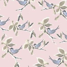 POH Roze Taupe Blauw behang