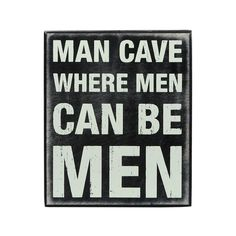 Strictly Men Only Sign #man #cave