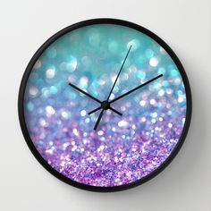 Tango+Frost+Wall+Clock+by+Lisa+Argyropoulos+-+$30.00