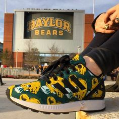 Awesome Sailor Bear shoes! #SicEm