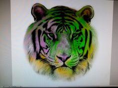 Arte tigre.