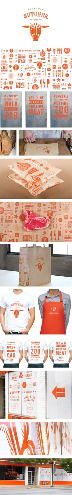 Broadway Butcher Shop on Behance