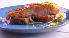 Salmón a la naranja con boniato y crema de jengibre - Gonzalo D'Ambrosio - Receta - Canal Cocina
