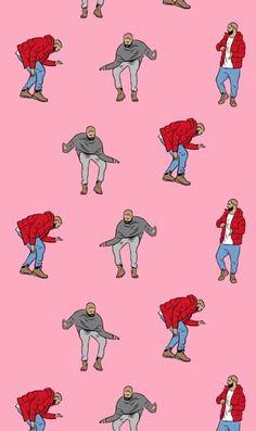 Imagem de Drake, wallpaper, and pink