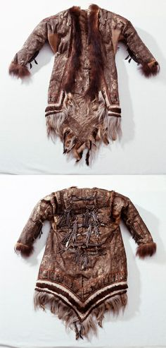 A Selkup shaman's coat. Museum of Cultures, National Museum of Finland Source: masterpieces.asemus.museum