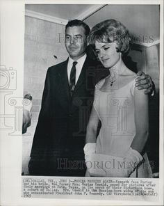 2 de Junio de 1965. Marina Oswald, viuda del presunto asesino de JFK, Lee Harvey Oswald, se vuelve a casar con Kenneth Porter En Dallas, TX. Continúan casados.