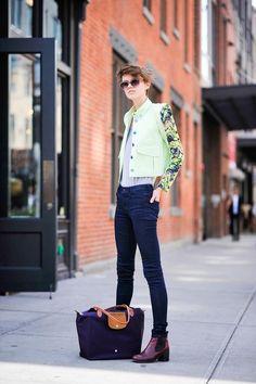 ストリートスナップ [rachel macknaght] | KENZO, ケンゾー | ニューヨーク | Fashionsnap.com
