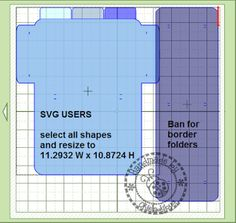 Okieladybug's Scrap N' More: Embossing Folder Storage - MTC SVG format