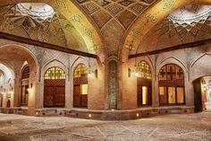 سرای سعدالسلطنه بزرگترین کاروانسرای سر پوشیده داخلی شهری در ایران