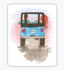 Stydia Jeep Teen Wolf Stiles and Lydia Sticker
