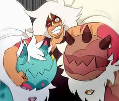 """I just…. love Jasper and the corrupted jasper-dogs.""<< Is it bad that I cried over Jasper...I mean I know she's pretty much the villain or well was but...I've always felt like maybe she could've been something different Idk I just really liked Jasper aside from her being narcissistic and rude ~Gabzilla~"