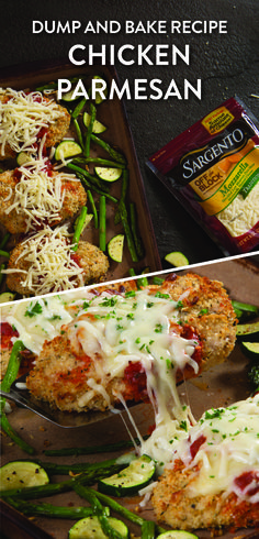 Making dinner doesn't have to be hard...or a lot of dirty dishes. Make life easy with a one pan recipe for chicken parmesan with roasted zucchini and asparagus. Simply place all the ingredients on one (Italian Chicken Seasoning)