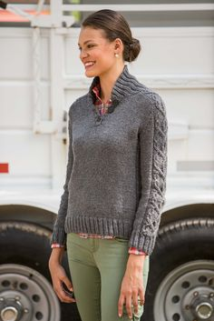Ravelry: Hitch Pullover by Vanessa Ewing