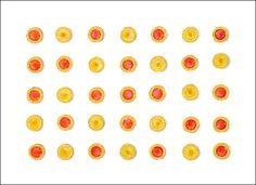 """""""Ciasteczka"""", akryl na płótnie format 50x70 cm"""