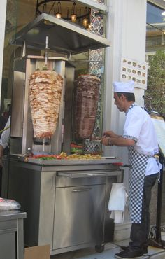 Street food in Istanbul - Explore the World with Travel Nerd Nici, one Country at a Time. http://TravelNerdNici.com