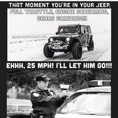 #jeeplife lol our poor little jeep means well