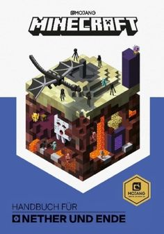EPub Minecraft: Guide to the Nether & the End Author Mojang Ab and The Official Minecraft Team Minecraft Banner Designs, Minecraft Banners, Minecraft Ideas, Minecraft Blueprints, Minecraft Images, Minecraft City, Minecraft Crafts, Minecraft Stuff, Reading Online