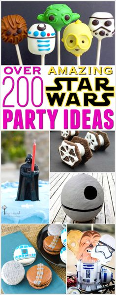 Star Wars Party Ideas | birthdays | kids | decorations | activities | games | food | DIY | cakes | printables | party favors | invitations